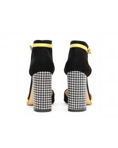 Pantofi cu toc gros Wild Mood - Hannami