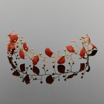 Accesoriu de par Autumn Leaves - Camelia Vlad - Hair accessory - Bridal hair accessory