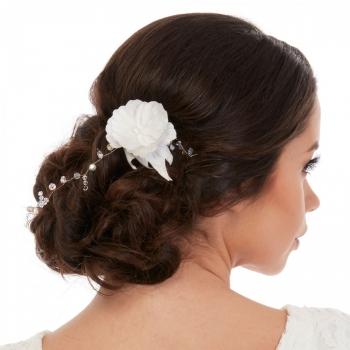 Accesoriu de par Crystal White - Camelia Vlad - Bridal hair accessory