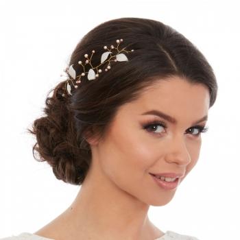 Accesoriu de par Delicate Leaves - Camelia Vlad - Bridal hair accessory